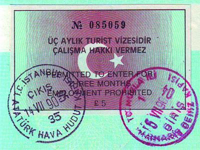 Des frais… des visas…